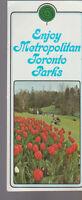 Enjoy Metropolitan Toronto Parks Brochure 1970s Canada