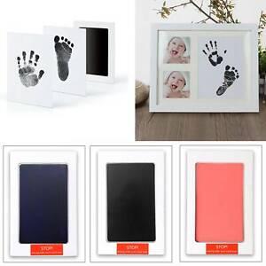 Baby Handabdruck und Fußabdruck Tinte Bremsbeläge Pfotenabdruck Sets für Toy