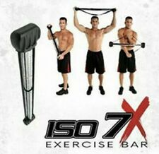 ISO 7X Isometric Build Strength Lean Muscle Workout 7 Second Revolution Bar NEW