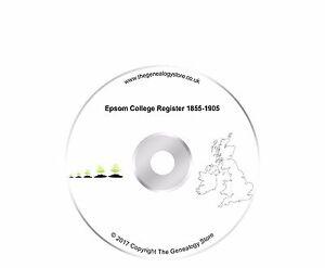 Epsom College Register 1855-1905