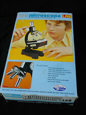 """CREATIVE SCIENCE"" VINTAGE 600 POWER MICROSCOPE LAB"