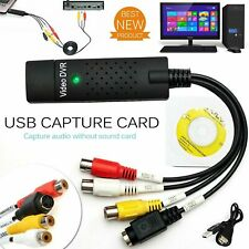 More details for new 2021 vhs vcr to digital converter usb 2.0 video capture card for windows 10