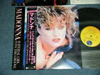 "MADONNA Japan 1984 PROMO NM 12"" EP+Obi MATERIAL GIRL, INTO THE GROOVE"