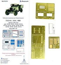 Microdisign 1/35 GAZ-AA, -AAA, -MM Universal Detail set 035230 for MiniArt kits