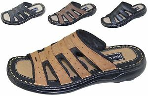 Mens Slipper Summer Sports Sandal Beach Buckle Walking Fashion Casual Shoes Size