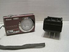 Nikon COOLPIX S220 10MP 3x Zoom Digital Camera