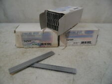 "3 Box 15000 Pc 3/16"" X 9/16"" Galvanized Narrow Crown Staples As Duo Fast 5418D"
