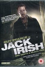 Neo Noir Thriller Jack Irish - Bad Debts & Black Tide AUS 2012 Guy Pearce 2-DVD