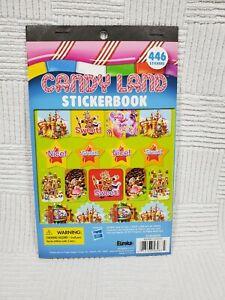 Candy Land Stickerbook Eureka EU-609695 446 Stickers Fun School Retro Candyland
