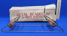 Vintage Waltoys Metal Beadloom For Beadcraft In Box Missing Instructions