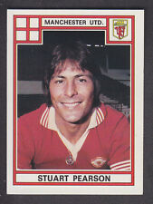 Panini - Football 78 - # 241 Stuart Pearson - Manchester United