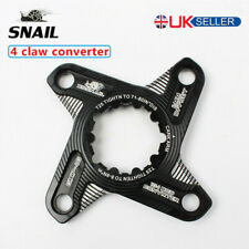 UK GXP Single Adapter MTB Road Bike 104BCD Chainring Crank Set 4 Claw Converter