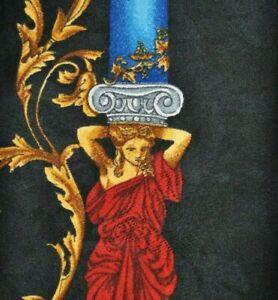 RARE ERVE' JACQUES 024 A COLLECTION Tie 100% Silk Black Color L58 W3.7