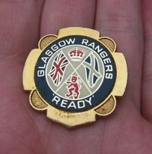 More details for glasgow rangers ready vintage 1970's insert pin badge rare vgc