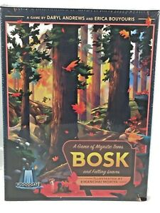 Bosk A Game of Majestic Trees and Falling Leaves Board Game Floodgate 2019 New