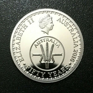 2016 Australian 10 Cent DECIMAL CHANGEOVER PROOF Coin - Low Mintage Year #029