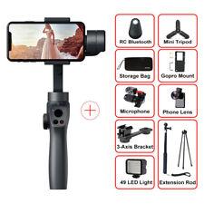 Handhold 3-Axes Stabilizer For Smartphone Samsung Iphone  Camera Vloger Kit