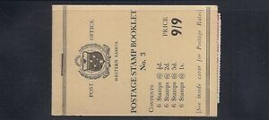 SAMOA 1960 booklet SG SB6 F/VF MNH