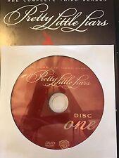 Pretty Little Liars - Season 3, Disc 1 REPLACEMENT DISC (not full season)