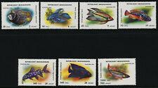 Malagasy 1192-9 MNH Aquarium Fish