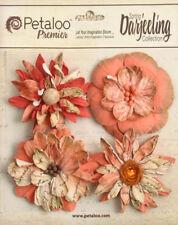 Petaloo Textured Elements Poinsettias 4pcs