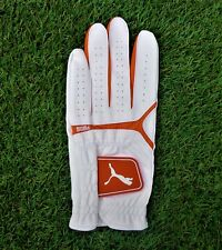 Puma Golfhandschuh Sport Performance Glove LH white vibrant orange 04123803