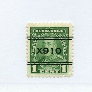 #4-217, SAINT JOHN, #X910 Cat $7.50 PRECANCEL, Canada used