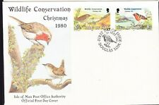 Isle of Man 1980 Wildlife Conservation First Day Cover