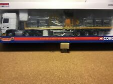 DAF XF space cab sided crane trailer & palletised block load 1:50 by CORGI