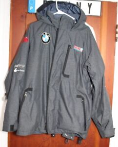 Team USA Bobsled / Skeleton Under Armour Jacket / Coat with patches