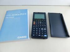 Casio CFX 9850 GA Plus Graphing Calculator w/Users Guide & Cover Tested Works