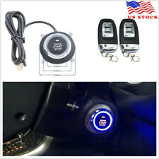 Car Alarm System Keyless Entry Engine Start Push Button Remote Starter 8 Parts Fits Honda