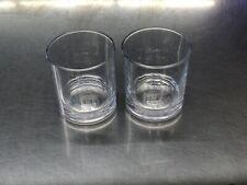 Pair of Knob Creek Bourbon Whiskey Tumbler Glasses