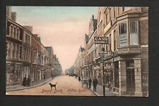 Barry Dock - Holton Road - colour printed postcard