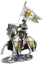 Ancestors Pewter Medieval C15th. Knight w/ Pennant 4.25ins Myths/Legends # 7706