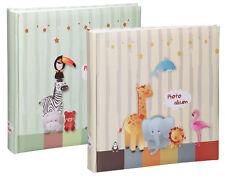 2x Fotoalben Tiere in 30x30 cm 100 Seiten Babyalbum Jumbo Foto Album