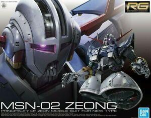 Rg #34 Real Grade Scale 1/144 Zeong Bandai Gundam Gunpla Model Assembly Kit