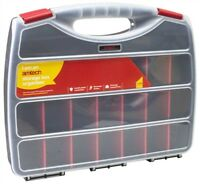 380mm Multi Compartment Professional Tool Organiser Case Box Storage New- Amtech