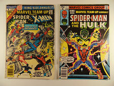 Marvel Team-Up Annual #1,2 1976,79 see pics