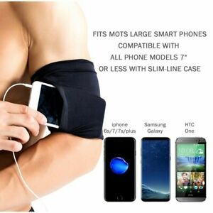 Arm Band Cell Phone Holder Armband Sports Gym Running Jogging Bag iPhone Samsung