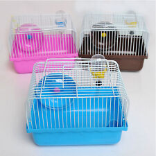 Pet Hamster Shop Household Hamster Gerbil Small Pet Cage Portable Hamster Cage