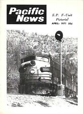 Pacific News Apr.1971 SP Southern Pacific F-Unit Pictorial BART Transit Car