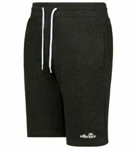 Ellesse Sport Rochero Fleece Jogger Shorts for Men Charcoal Casual Sport New