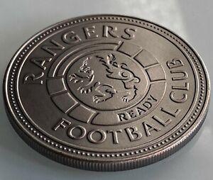 Glasgow Rangers Premiership Champions Coin, Steven Gerrard, Liverpool 55