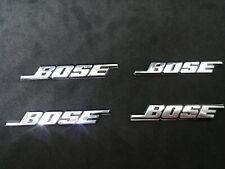 4 x stemma badge logo adesivo metallo bose altoparlanti stereo