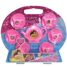 Disney Princess Girls Mini Tea Party Pretend Play Gift Set 13 Pieces