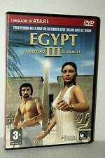 EGYPT III IL DESTINO DI RAMSES USATO BUONO PC DVD VERSIONE ITALIANA GD1 47528
