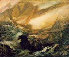 Albert Pinkham Ryder The Flying Dutchman Painting repro