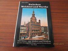 """altes Bilderbuch """" Zwischen Weichsel und Warthe (Polen) """" Orig.von 1989  /S7"""