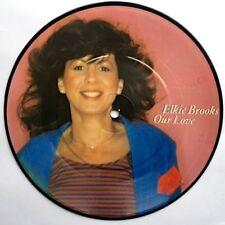 ELKIE BROOKS Our Love ORIG 1982 UK PICTURE DISC VINYL SINGLE Near Mint